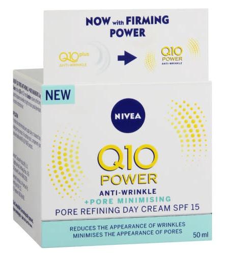Nivea Q10 Plus Spf15 Power Pore Refining Day Cream