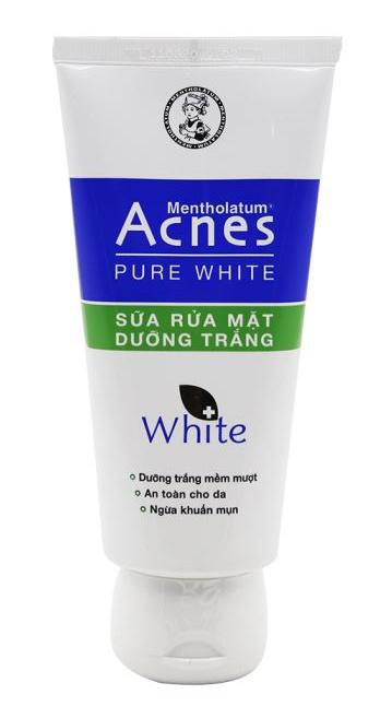 Rohto Mentholatum Acnes Pure White Cleanser