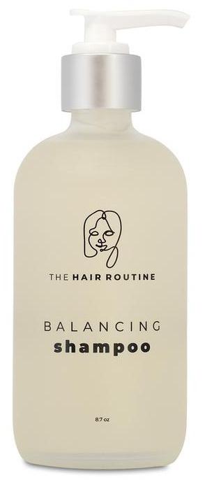 The hair routine Balancing Shampoo