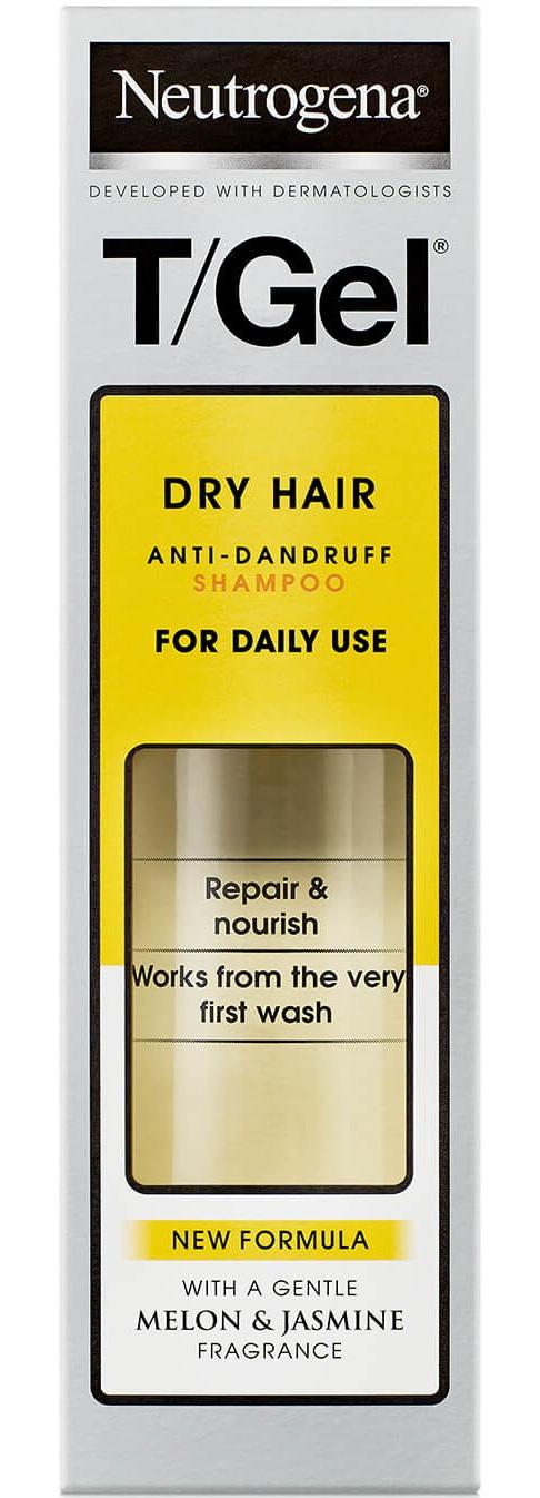 Neutrogena T/Gel Anti-Dandruff Shampoo For Dry Hair