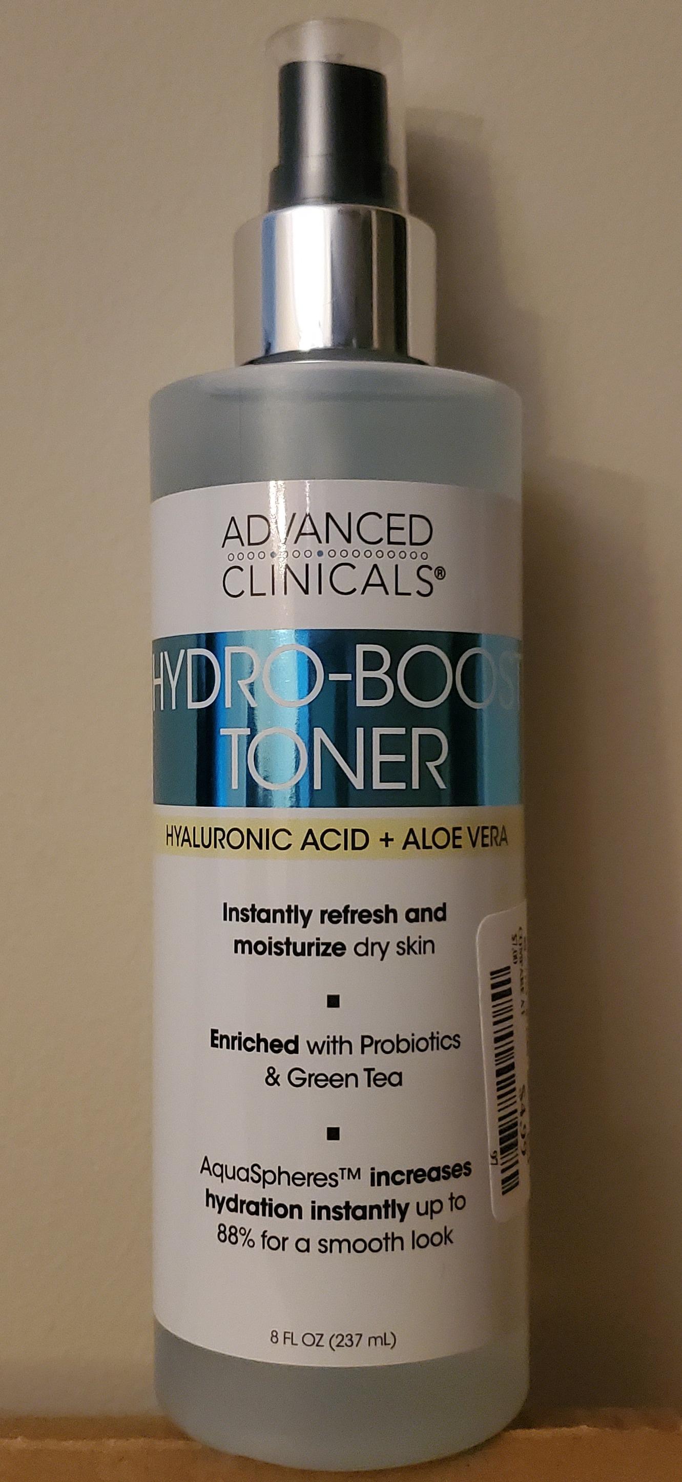 Advanced Clinicals Hydro-Boost Toner