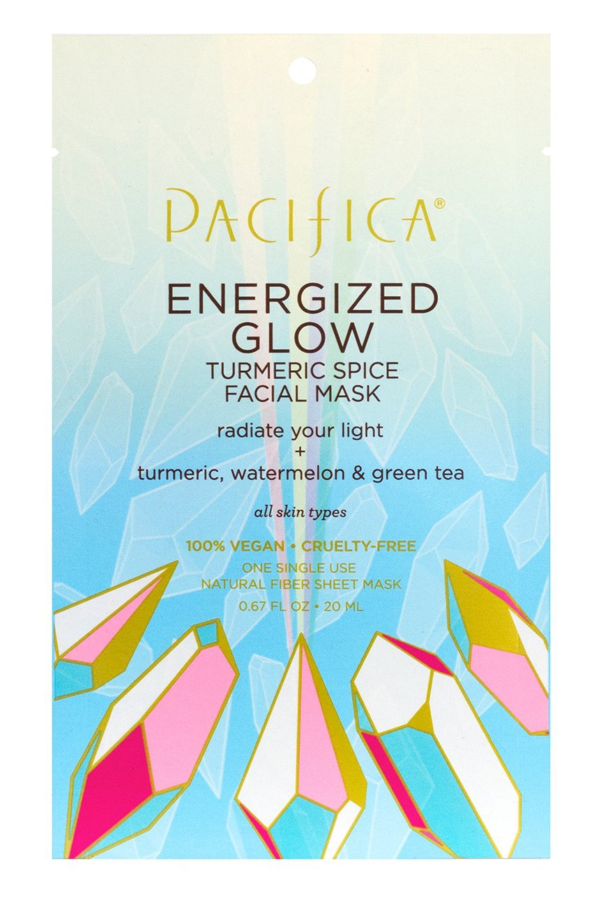 Pacifica Energized Glow Turmeric Spice Facial Mask