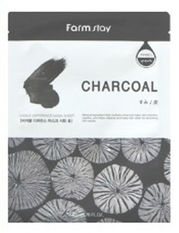 Farmstay Visible Difference Sheet Mask Charcoal