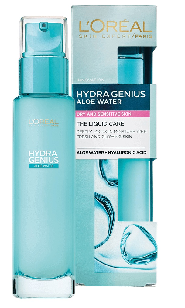 L'Oreal Paris Hydra Genius Dry & Sensitive Skin