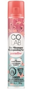 COLAB Paradise Fragrance Dry Shampoo