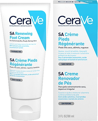 CeraVe SA Foot Renewal Cream
