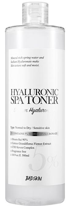 BAD SKIN Hyaluronic Spa Toner