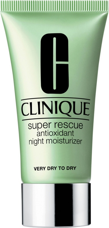Clinique Super Rescue Antioxidant Night Moisturizer, For Very Dry To Dry Skin