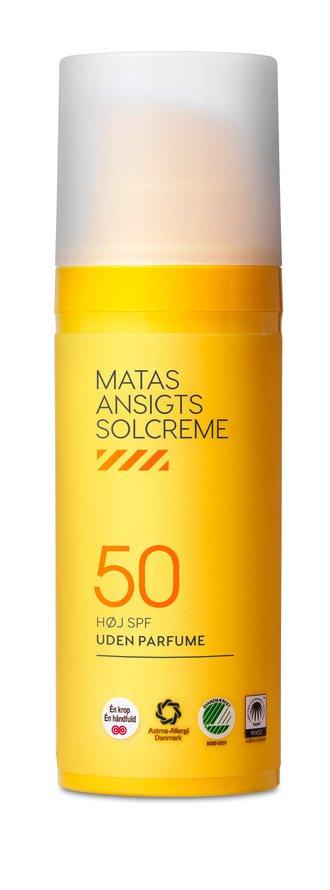 Matas Striber Face Sunscreen Spf 50