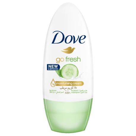 Dove Go Fresh Cucumber & Green Tea Roll-On Antiperspirant Deodorant