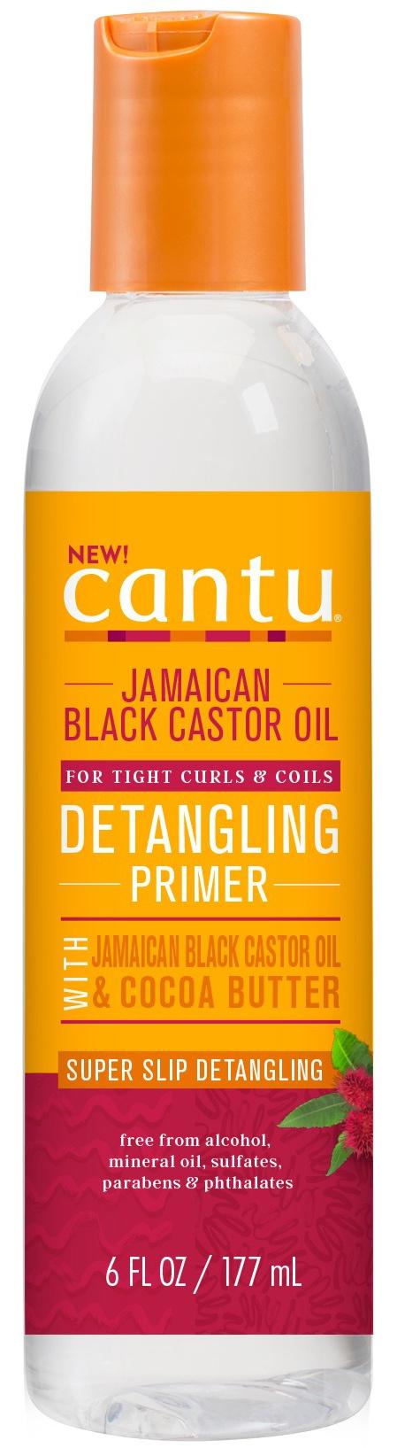 Cantu Jamaican Black Castor Oil Collection Detangling Primer