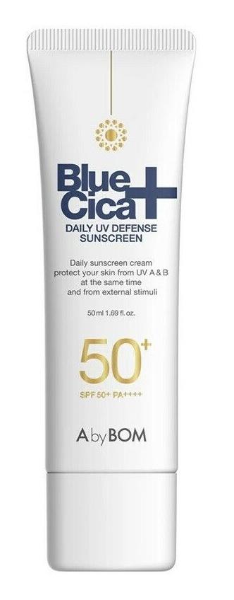 A. By Bom Blue Cica+ Daily UV Defense Sunscreen