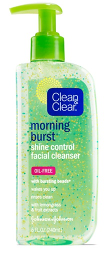 Clean And Clear Morning Energy Burst Cleanser