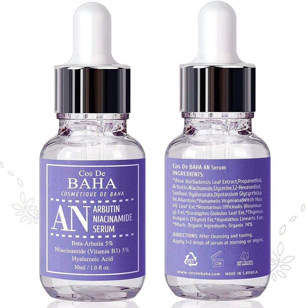 Cos De BAHA Arbutin 5% + Niacinamide 5% Serum