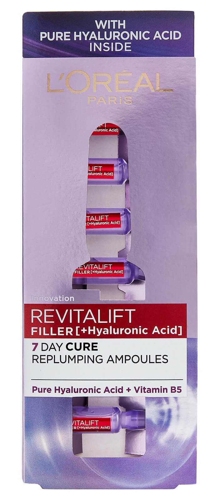 L'Oreal  Filler [+Hyaluronic Acid] 7 Day Replumping Ampoules 7 x 1.3ml