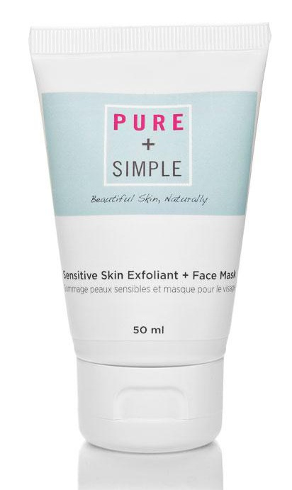 Pure and Simple Sensitive Skin Exfoliant And Mask