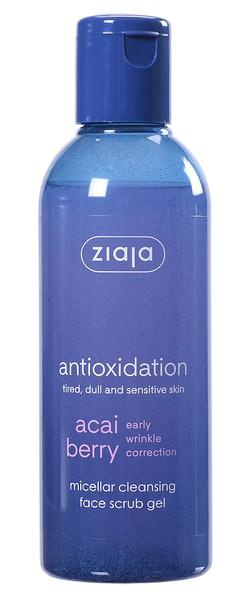 Ziaja Acai Berry Early Wrinkle Correction Micellar Cleansing Face Scrub Gel