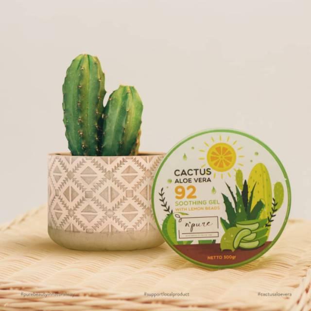 n'pure Cactus Aloe Vera Gel