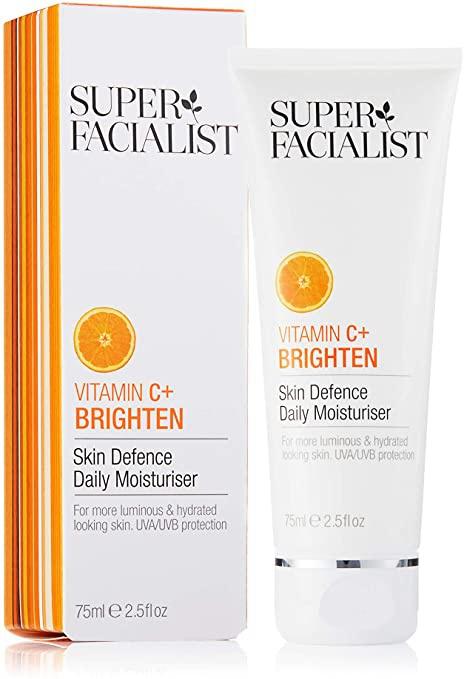 Super Facialist Vitamin C+ Brighten Skin Defence Daily Moisturiser