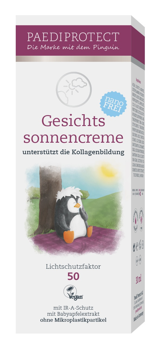 PAEDIPROTECT Gesichtssonnencreme Spf 50