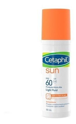 Cetaphil Sun Antioxidante FPS 60 Sem Cor