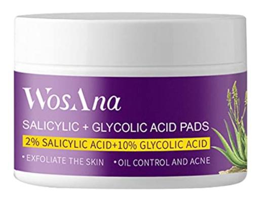 WosAna Salicylic + Glycolic Acid Pads