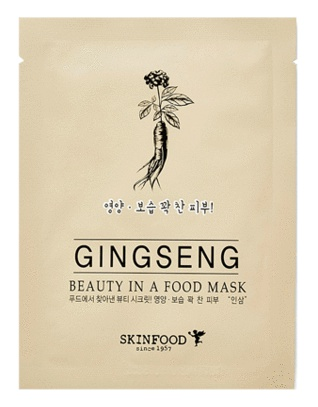 Skinfood Beauty In A Food Mask Sheet - Ginseng