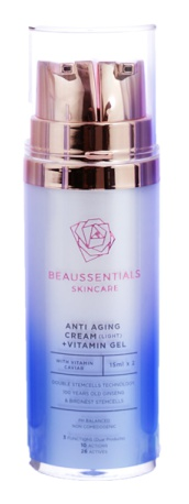 Beaussentials Skincare Anti Aging Cream (Light) + Vitamin Gel