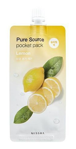 Missha Pure Source Pocket Pack - Lemon