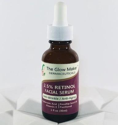 The Glow Maker 2.5% Retinol Serum