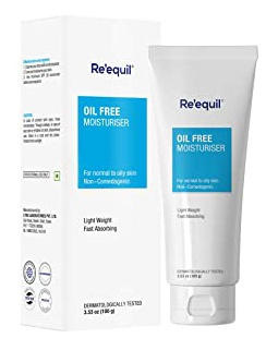 Re'equil Oil Free Moisturiser For Normal, Oily & Combination Skin