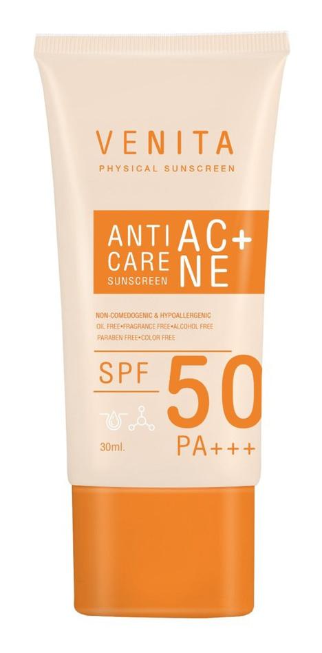 Venita Anti-Acne Care Sunscreen SPF50/Pa+++