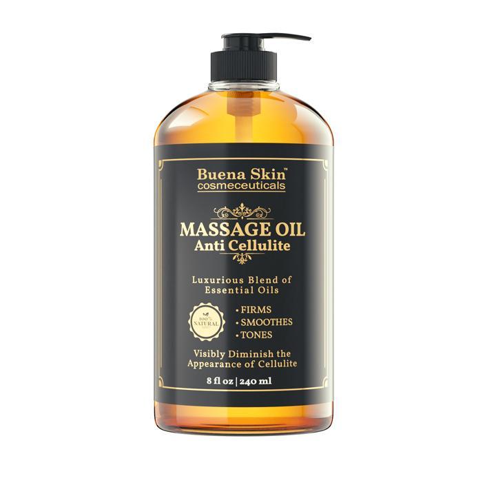 Buena Skin Cosmeceuticals Anti Cellulite Treatment Massage Oil