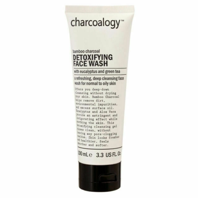 Charcoalogy Bamboo Charcoal Detoxifying Face Wash