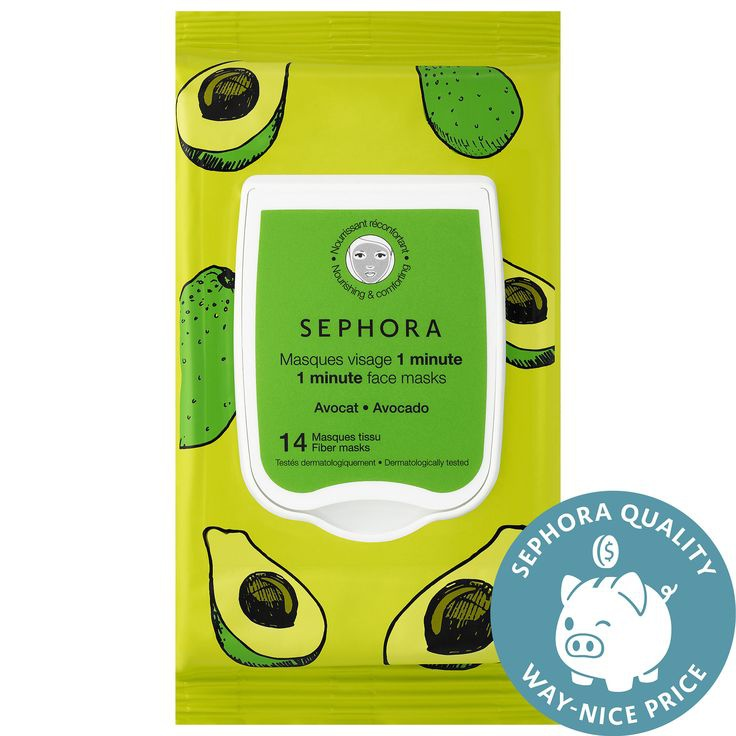 Sephora One Minute Face Mask