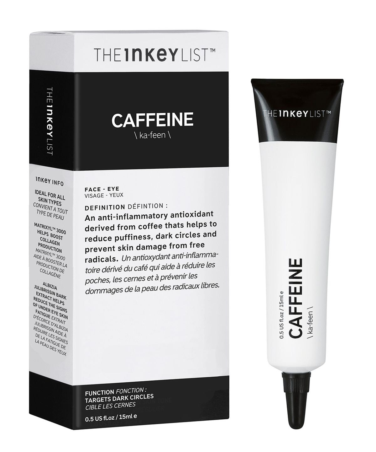 The Inkey List Caffeine Serum