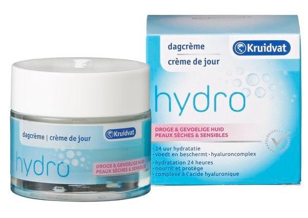 Kruidvat Dagcrème Hydro Droge & Gevoelige huid