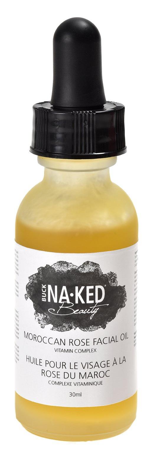 Buck Naked Soap Company Moroccan Rose Facial Oil Vitamin Complex