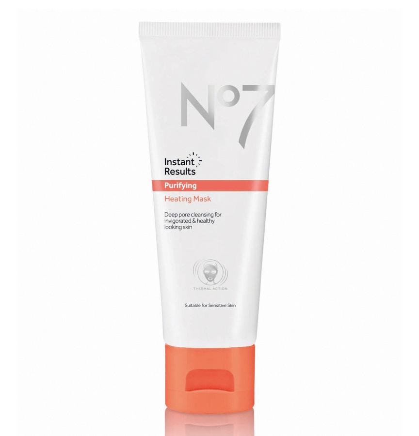 No. 7 Instant Results Purifying Heating Mask