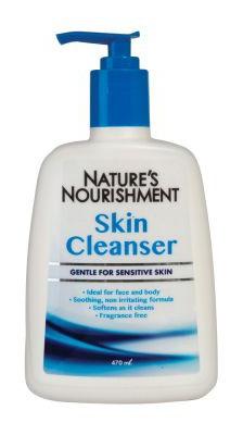 Natures Nourishment Skin Cleanser Gentle
