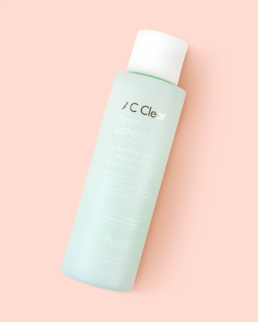 The Plant Base Ac Clear Pure N Skin Lotion