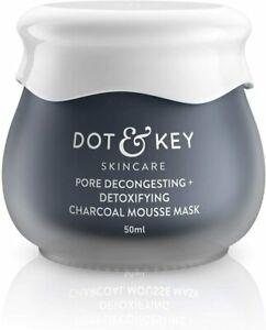 Dot & Key Charcoal Detox Mousse Clay Mask