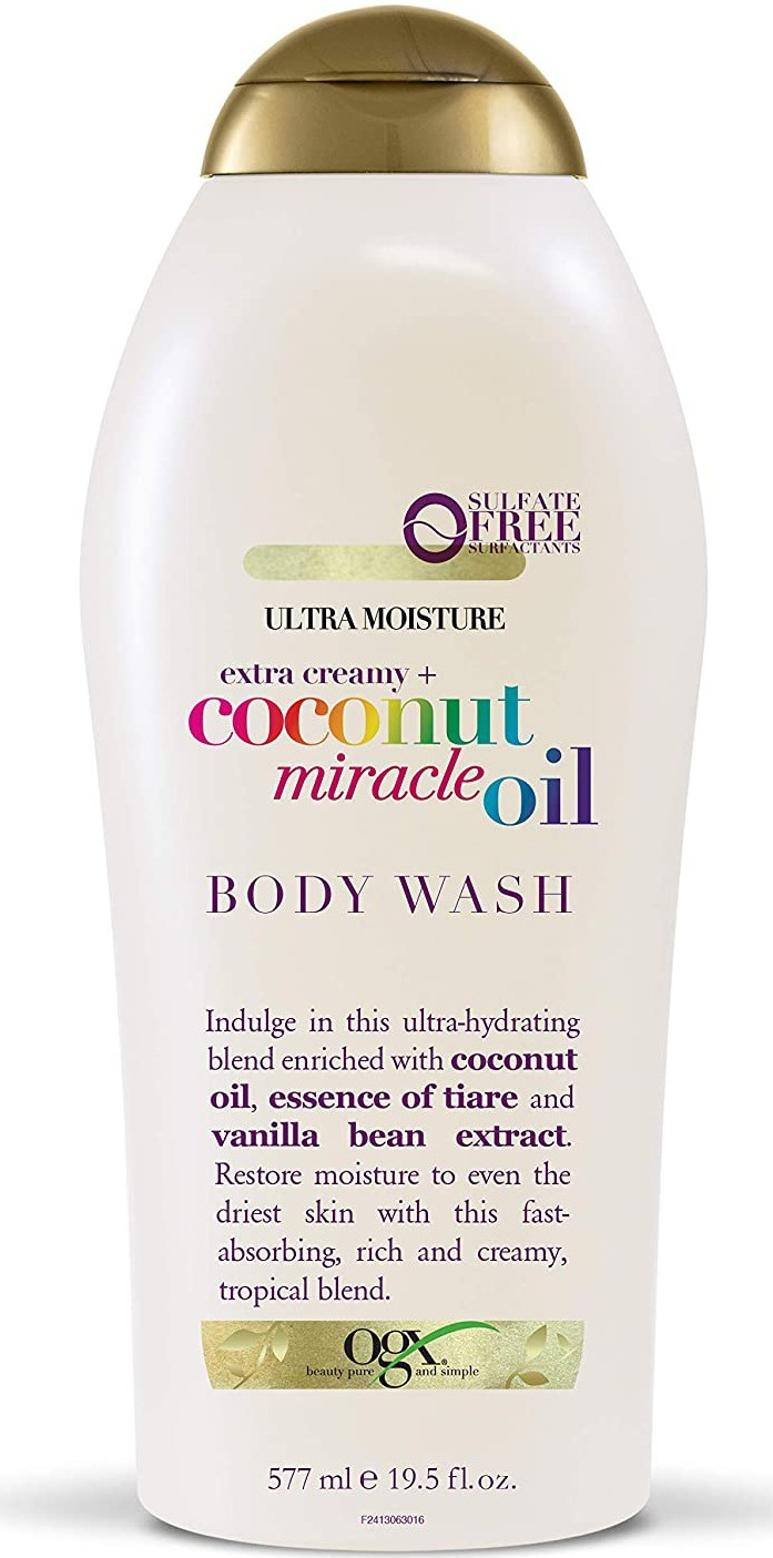 OGX Extra Creamy + Coconut Miracle Oil Body Wash