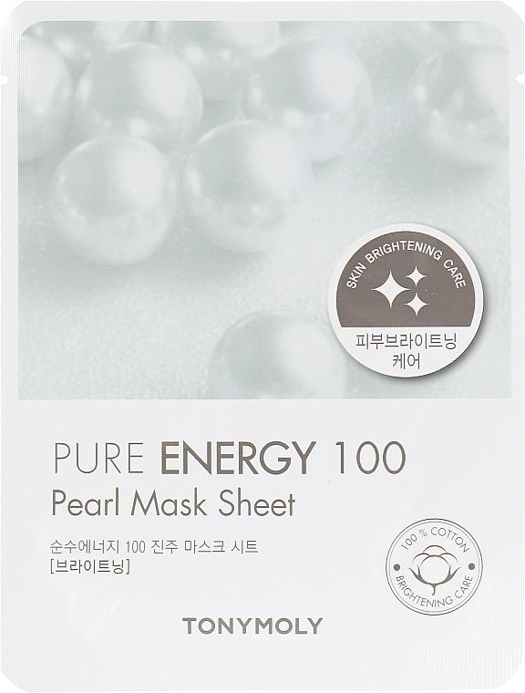 TonyMoly Pure Energy 100 Pearl Mask Sheet