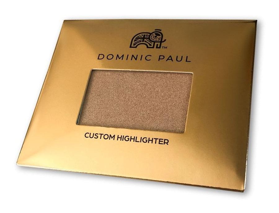 Dominic Paul Cosmetics Custom Highlighter