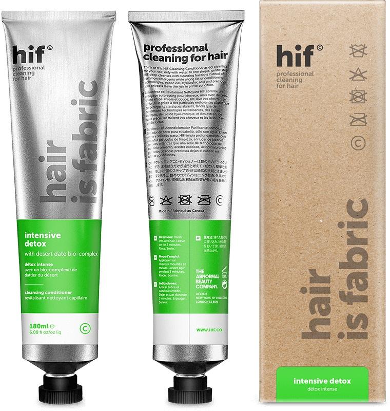 hif (Hair is Fabric) Intensive Detox
