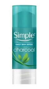 Simple Daily Skin Detox Charcoal Cleansing Stick