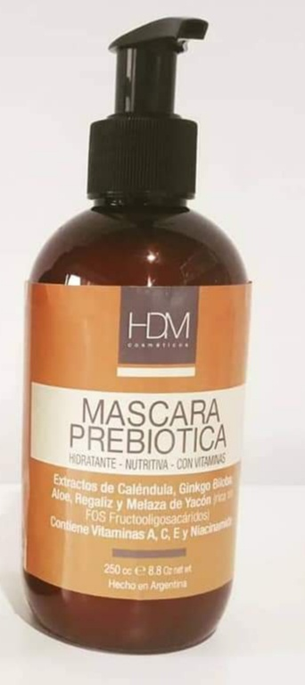 HDM Máscara Prebiótica Hidratante Nutritiva
