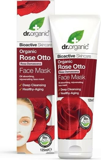 Dr Organic Rose Otto Face Mask