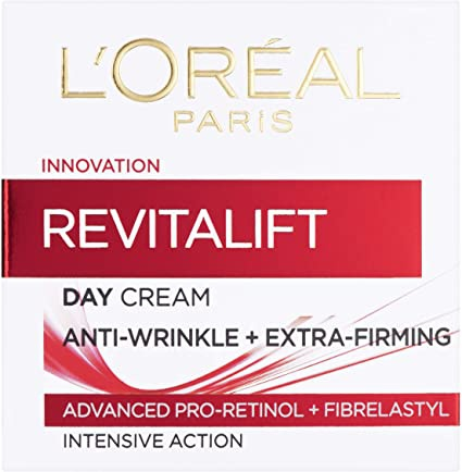 L'Oreal Paris Revitalift Anti-Ageing + Firming Pro Retinol Day Cream (UK)